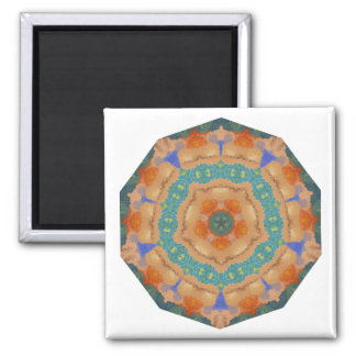 Geometric Pattern 06 - Add your own text Refrigerator Magnet