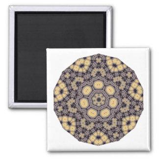 Geometric Pattern 07 - Add your own text Fridge Magnet