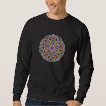 Geometric Pattern 10 - Add your own text Sweatshirt
