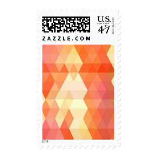 Geometric pattern 1 postage stamp