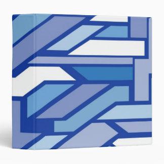 Geometric pattern 2 3 ring binders