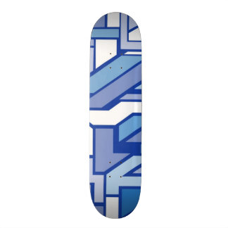 Geometric pattern 2 skateboard deck