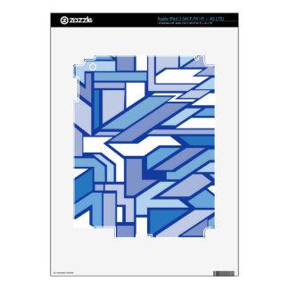 Geometric pattern 2 decal for iPad 3