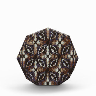 Geometric pattern.Abstract background Acrylic Award