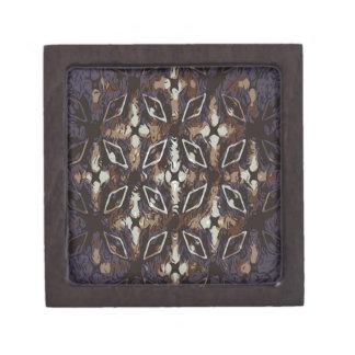 Geometric pattern.Abstract background Gift Box