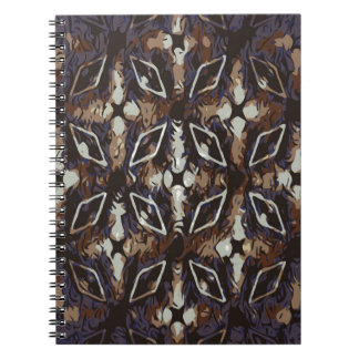 Geometric pattern.Abstract background Notebook