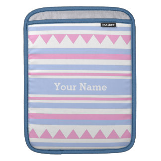 Geometric Pattern custom iPad sleeve