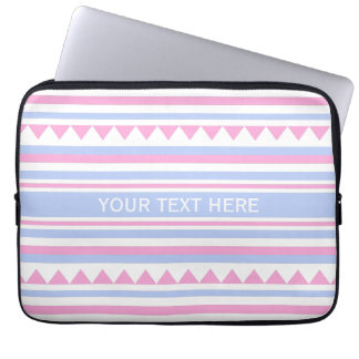 Geometric Pattern custom laptop sleeve