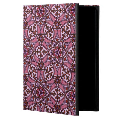 Geometric Pattern Fleur de Lis in Pink Powis iPad Air 2 Case
