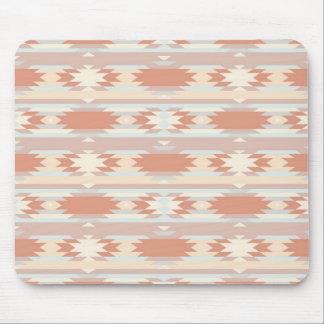 Geometric pattern in aztec style 3 mousepad
