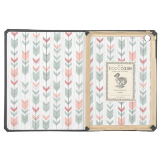 Geometric pattern in retro style iPad air covers