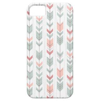 Geometric pattern in retro style iPhone SE/5/5s case