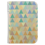 Geometric pattern kindle folio cases