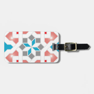 Geometric Pattern - Oriental Design Pt.3 Bag Tag