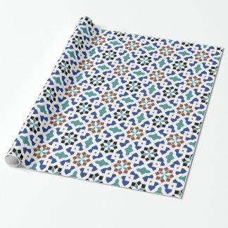 Geometric Pattern - Oriental Design Pt.4 Wrapping Paper