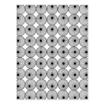 Geometric Pattern Postcard
