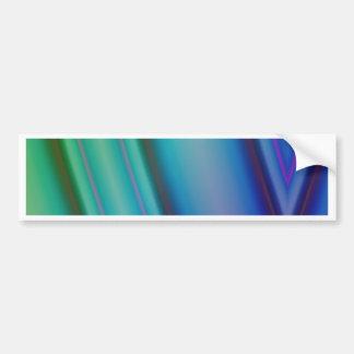 Geometric pattern purple and blue by Tutti Bumper Stickers
