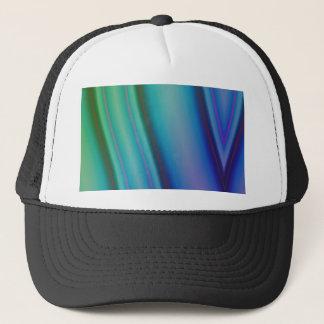 Geometric pattern purple and blue by Tutti Trucker Hat