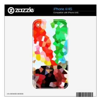 Geometric Pattern Skins For iPhone 4