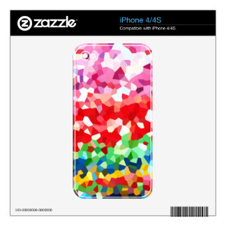 Geometric Pattern Decals For iPhone 4S