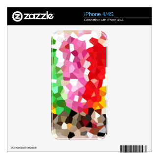 Geometric Pattern Skins For The iPhone 4S
