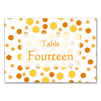 Geometric Pattern with Yellow and Brown. Card