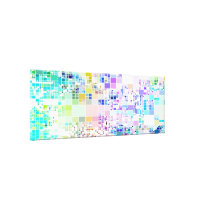 Geometric Patterned Gallery Wrap Canvas