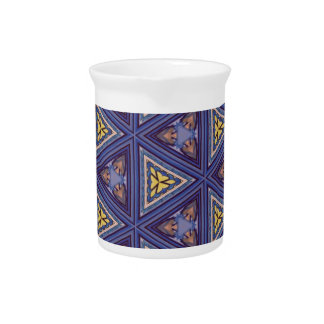 Geometric Patterns and Shapes Pitcher