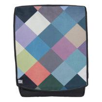 Geometric Patterns | Multicolor Blocks Backpack