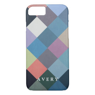 Geometric Patterns | Multicolor Blocks iPhone 8/7 Case