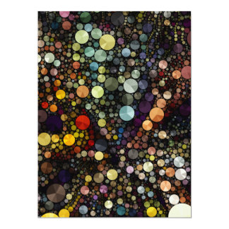 Geometric Patterns | Multicolor Circles Card