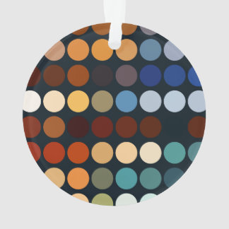 Geometric Patterns | Multicolor Circles II Ornament