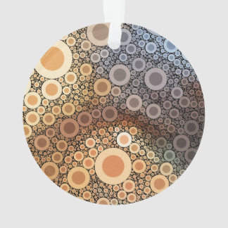 Geometric Patterns | Multicolor Circles III Ornament