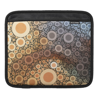 Geometric Patterns | Multicolor Circles III Sleeves For iPads