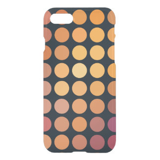 Geometric Patterns | Purple and Orange Circles iPhone 7 Case