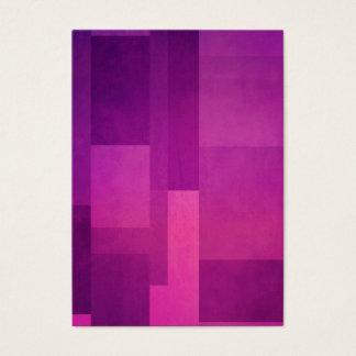 Geometric Patterns | Purple Squares Business Card