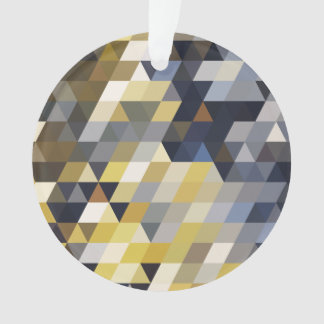 Geometric Patterns | Yellow and Blue Triangles