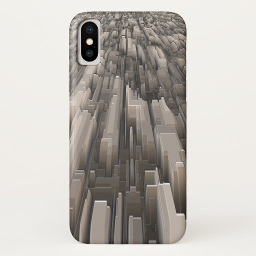 Geometric Perspective iPhone X Case