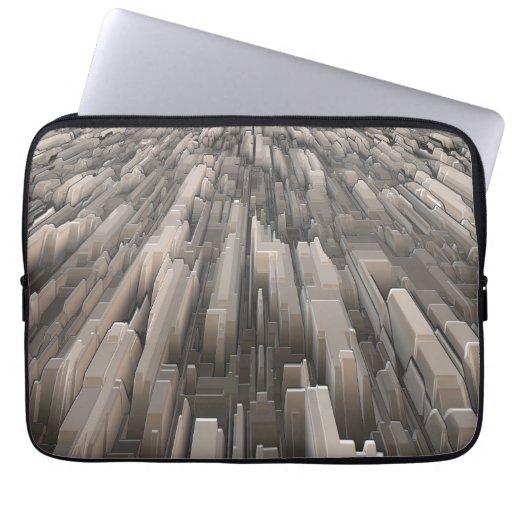 Geometric Perspective Laptop Sleeve