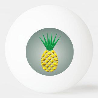 Geometric Pineapple Ping Pong Ball