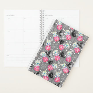 Geometric Pineapple Textured Pattern Planner