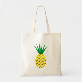 Geometric Pineapple Tote Bag
