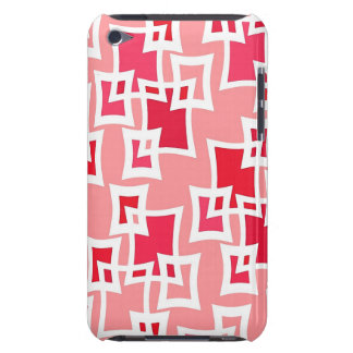 Geometric Pink Squares iPod Touch Cases