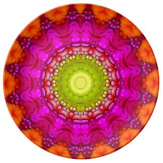 Geometric Plate Design Porcelain Plates