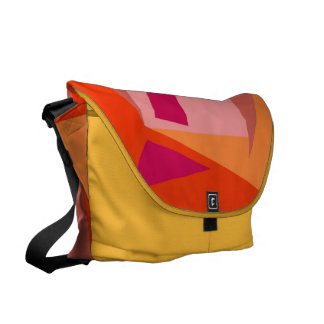 Geometric Plus Messenger Bag