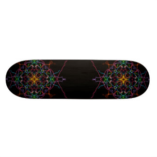 Geometric Prism Skate Board Deck