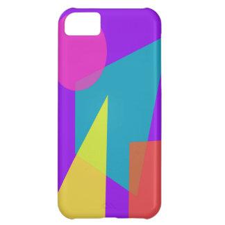 Geometric Purple iPhone 5C Cover