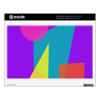 Geometric Purple Medium Netbook Skins