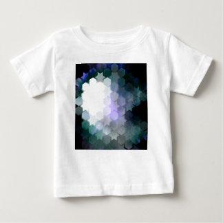 Geometric Purple Stars & Hexagons Baby T-Shirt
