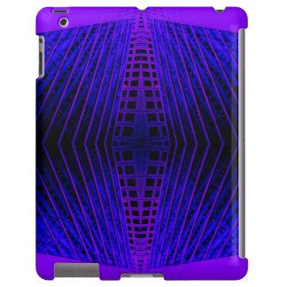 Geometric Purple Urban Futurism CricketDiane iPad